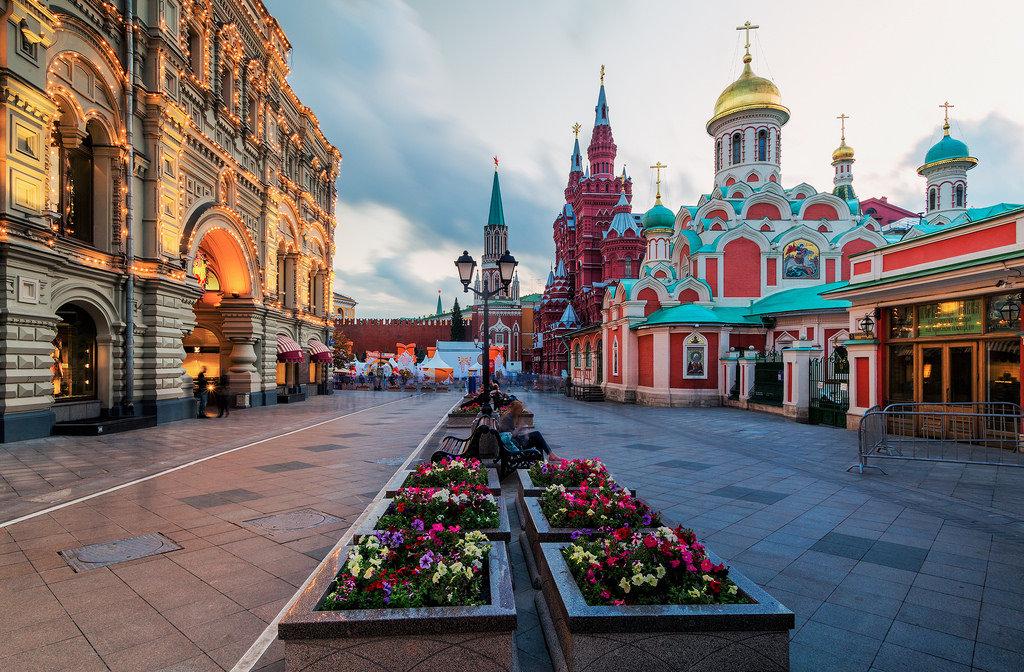 Экскурсии по лучшим местам Москвы